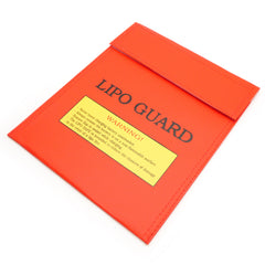 "Fire Resistant LiPo Charging Safety Bag Medium Size 7""x9"""