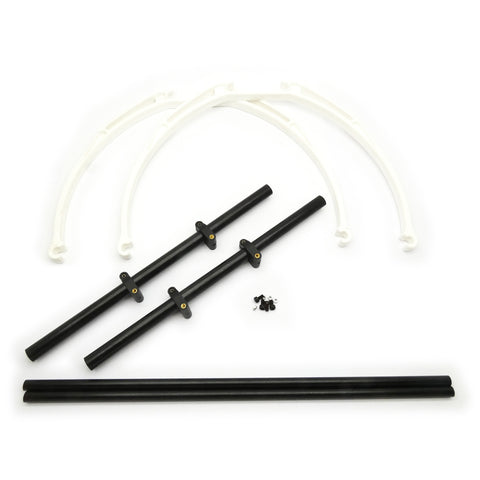 M200 200mm Drone Landing Gear for Multirotor (Black/White)