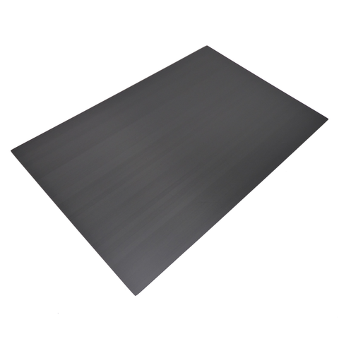 300x200x3mm Unidirectional Carbon Fiber Panel Sheet Gloss Finish