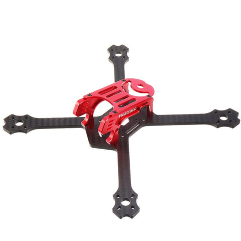 RealAcc Lastar200 200mm FPV Racing Drone Frame Kit 4mm Body CNC Aluminum (Black)