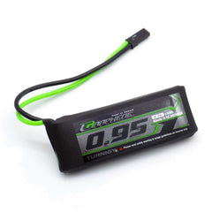 Turnigy Graphene Panther 950mAh 1S 3.7V 75C 150C LiPo Battery JST Connector Plug