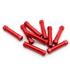 10pcs M3x29mm Aluminum Spacer Standoff (Anodized Red)