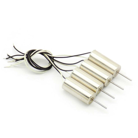 4pcs 716 Coreless Brushed Motor 7x16mm 55k (2)CW (2)CCW