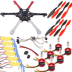 550mm F3 Naze32 Hexacopter Drone Kit 2212 Brushless Motors 30A ESC 2-3S 1045 Propellers