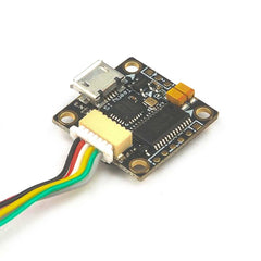 Micro F4 Flight Controller w/ Int. Betaflight OSD, LED, Buzzer 16x16mm mounting