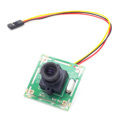 700TVL FPV Camera 1/4 CCD 3.6MM Lens NTSC CCTV Racing Drone HD Camera