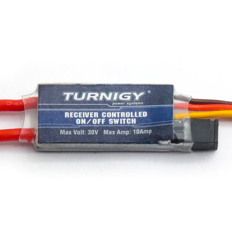 Turnigy Receiver Controlled On/Off Switch up to 10A / 30V