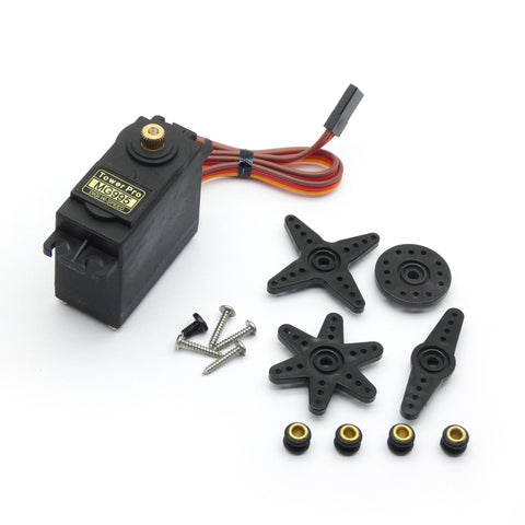 MG995 Servo Metal Gear High Torque Servo w/ Accessories for HPI XL Helicopter/Car/Boat