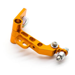 Radio Controller FPV Monitor Screen Mount Universal Bracket Aluminum LCD Holder (Orange)