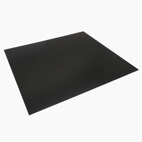 "335x300x1.5mm Black G10 FR4 Epoxy Fiberglass Composite Sheet Panel 13""x11.8"""