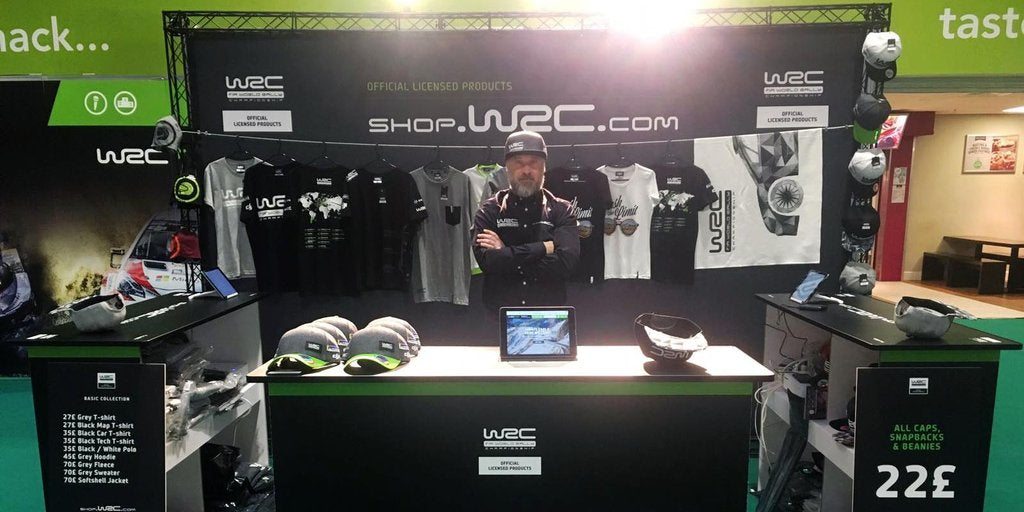 WRC online store gets an overhaul - High Peak gets the exclusive right to rally fan products