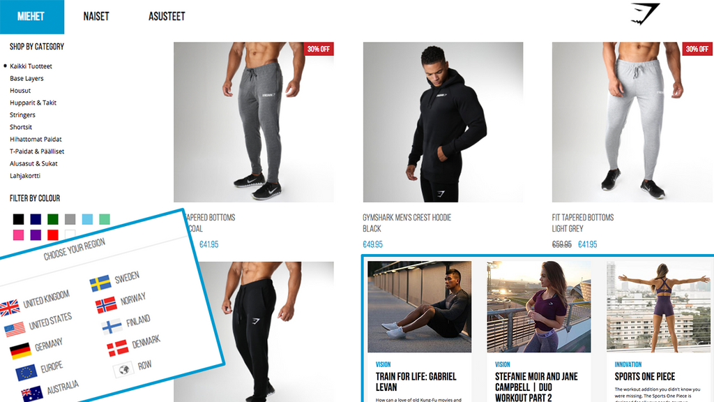 THE GYMSHARK BLOGS GO BY THE NAME OF GYMSHARK CENTRAL.