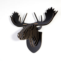 Moose Wooden Head