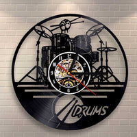 Drums Clock
