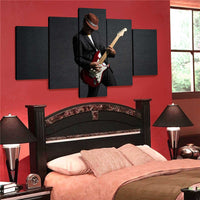Electric Guitar Canvas