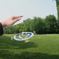 Flying Disk Magic Trick