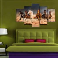 Galloping Horses Canvas