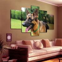 German Shepherd Canvas