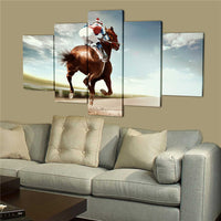 Racing Horse Canvas