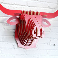 Buffalo Wooden Head
