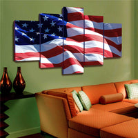 US Flag Canvas
