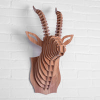 Goat Wooden Head