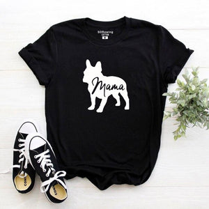 T-Shirt French Bulldog Mama