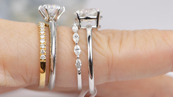 Ring Pairing A Detailed Guide For Finding The Perfect Wedding Band Fo Aurora Designer