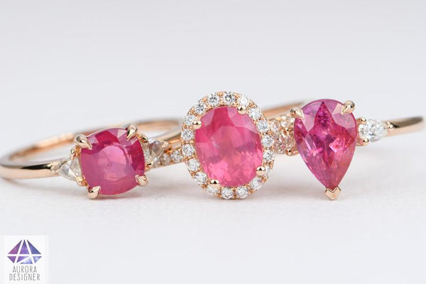 Spinel Engagement Rings