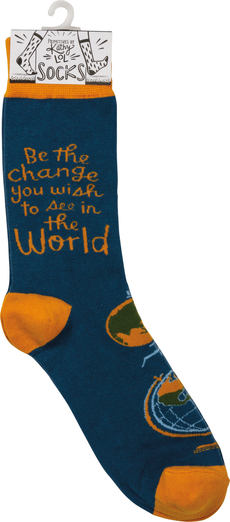 Socks - Be The Change You Wish To See