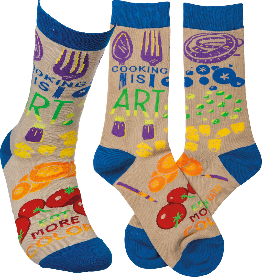 Socks - Cooking is Art