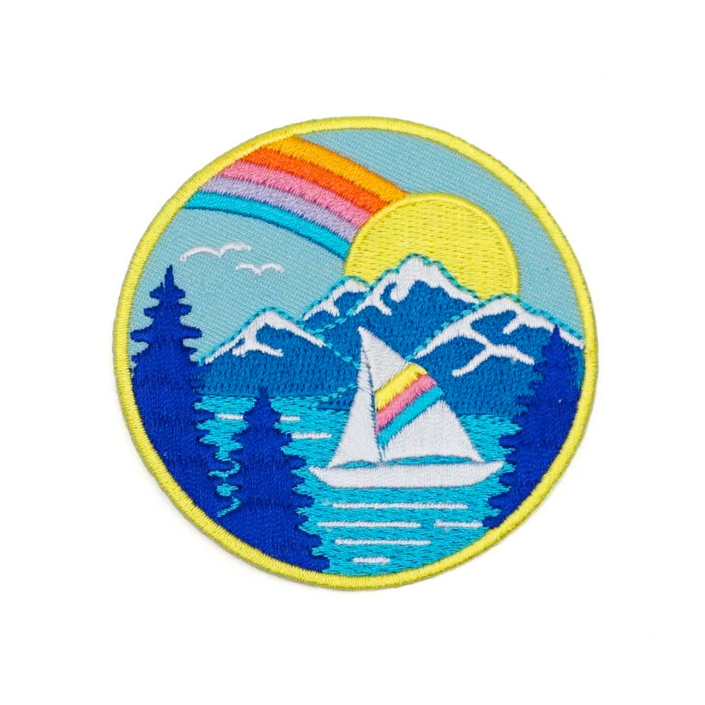 Lucky Horse Press - Tahoe Embroidered Patch