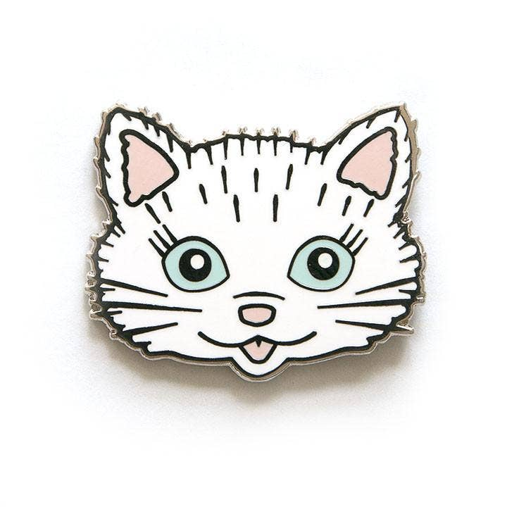 Smarty Pants Paper - Cat Pin