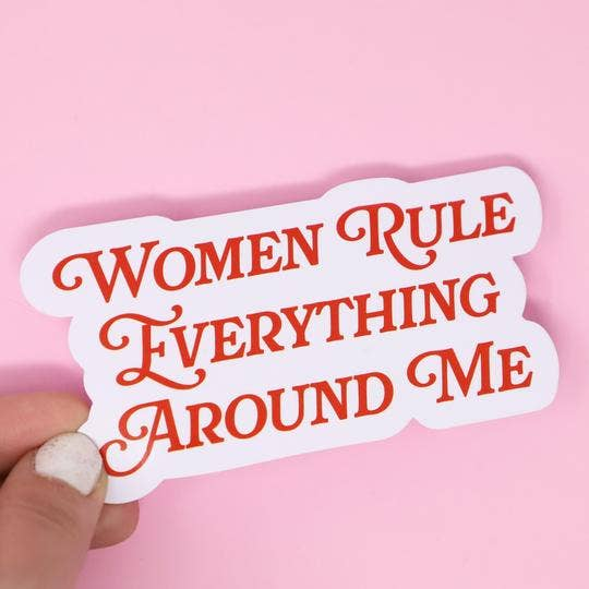 Made Au Gold - Women Rule Sticker