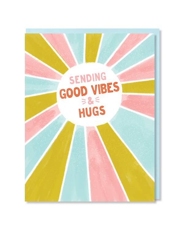 Paper Parasol Press - Good Vibes Card