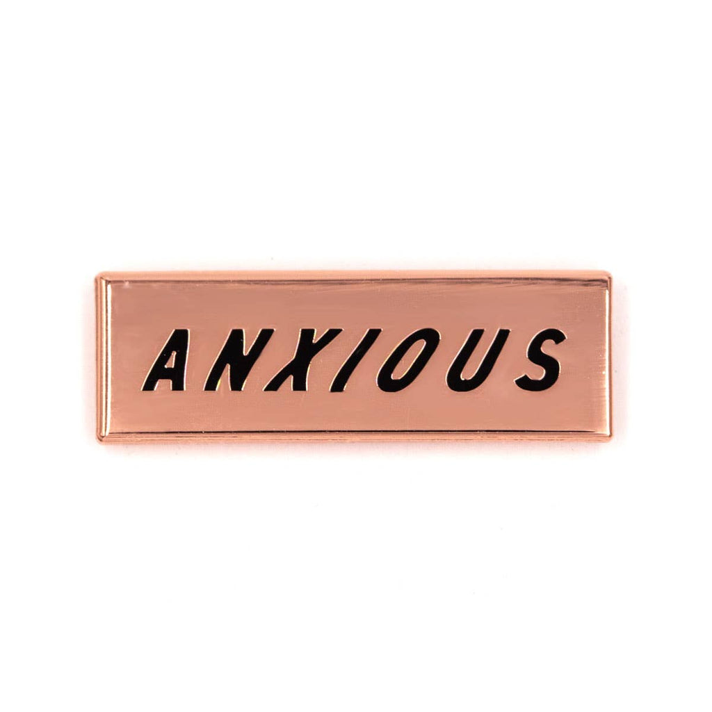 These Are Things - Anxious Enamel Pin