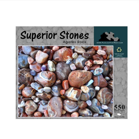 Puzzles That Rock - Superior Stones Rock Puzzle