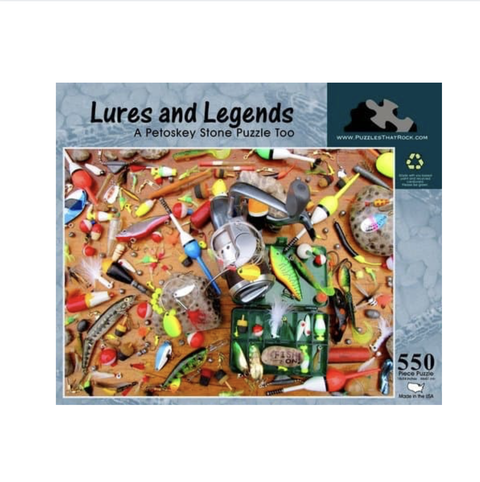 Puzzles That Rock - Lures and Legends Puzzle