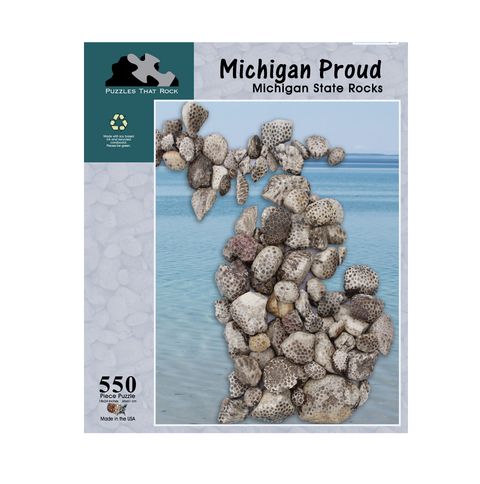 Puzzles That Rock - Michigan Proud Puzzle