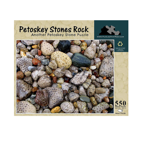 Puzzles That Rock - Petoskey Stones Rock Puzzle