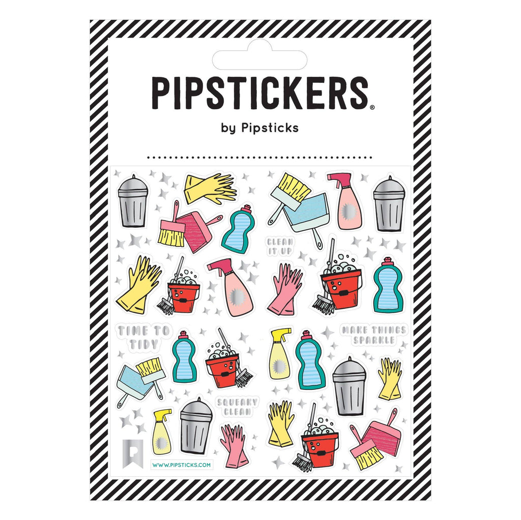 Pipsticks - Squeaky Clean Stickers