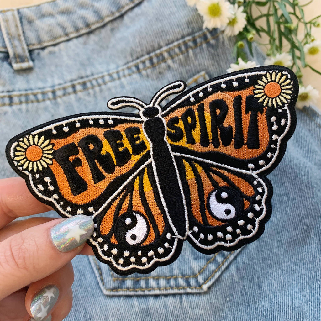 Wildflower + Co. - Patch - Butterfly Collection - Free Spirit Butterfly