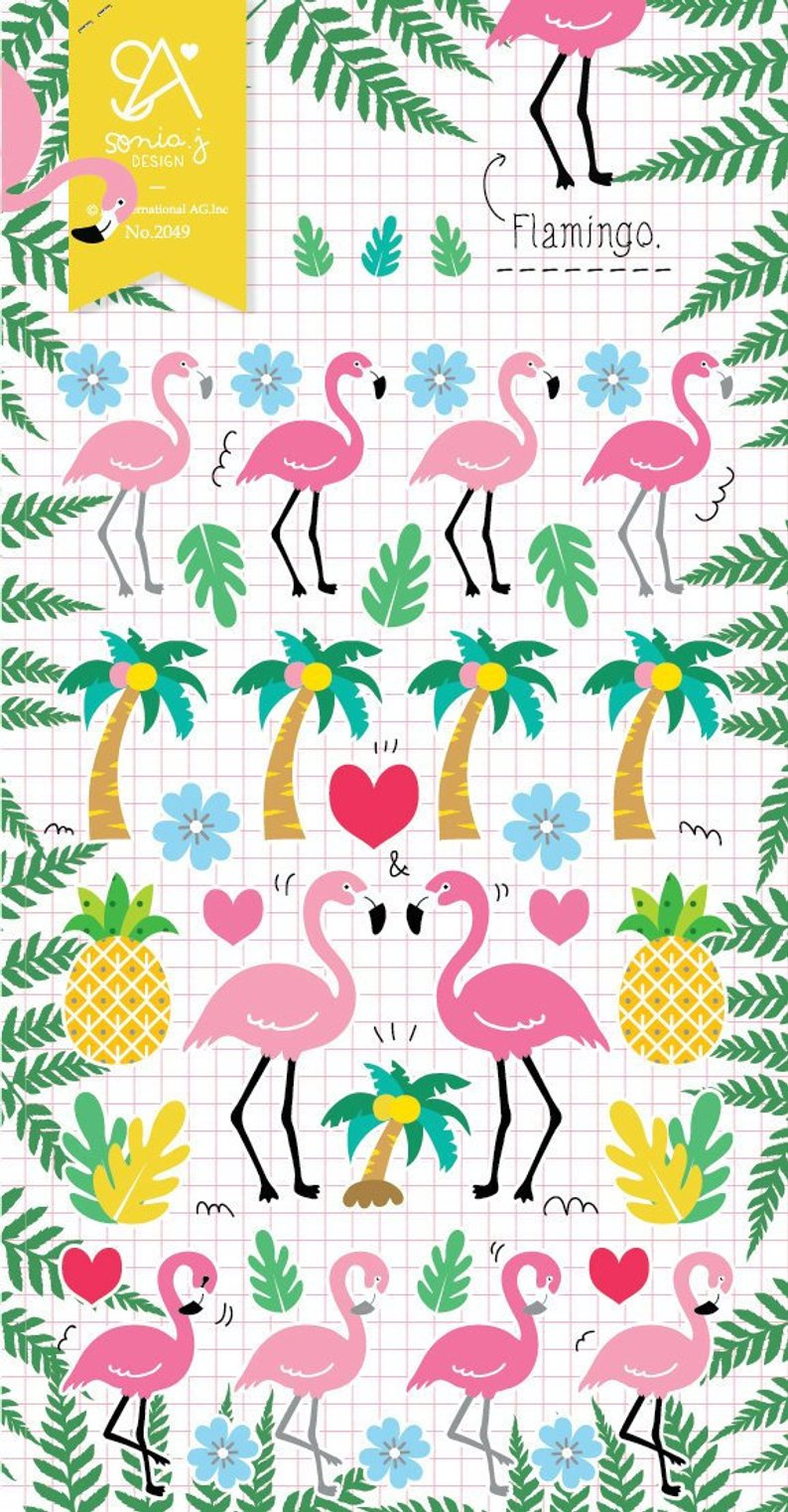 Love My Tapes Inc - Flamingo Stickers