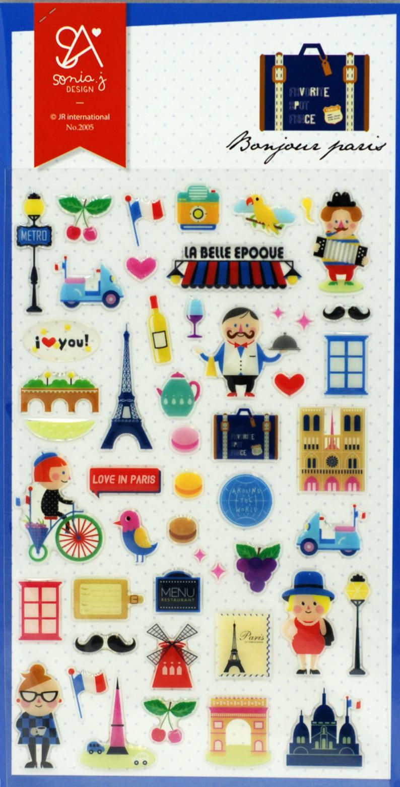 Love My Tapes Inc - Paris Stickers