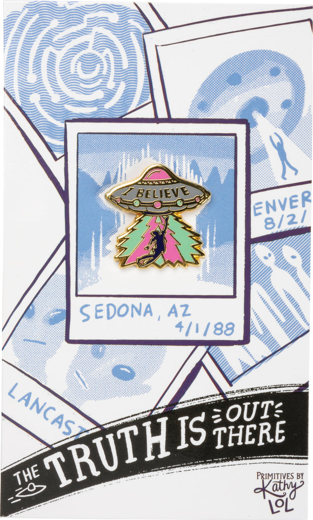 Enamel Pin - The Truth Is Out There