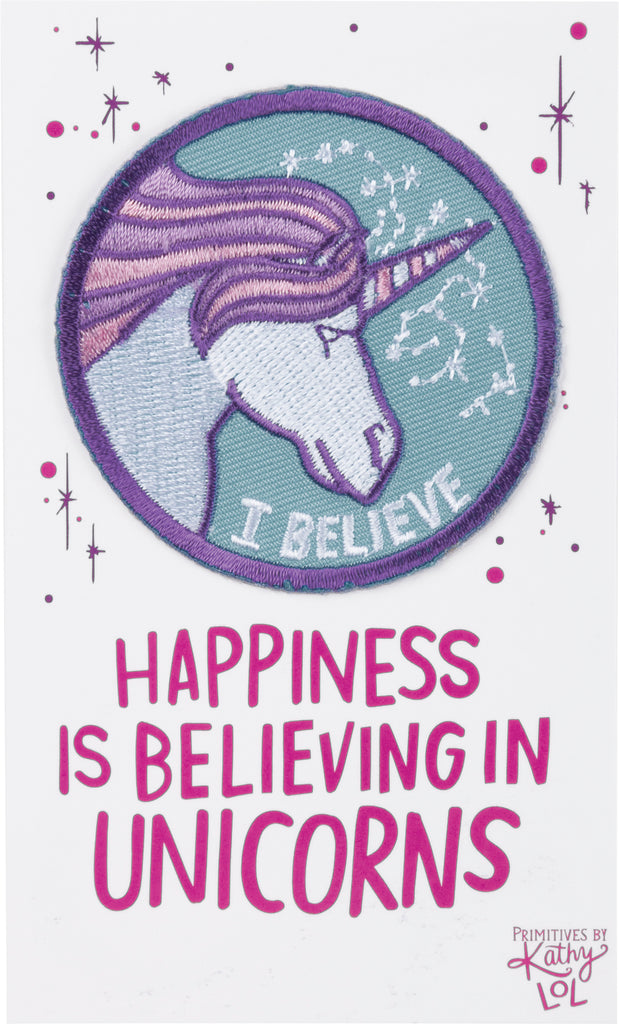Patch - Happiness Is Believing In Unicorns
