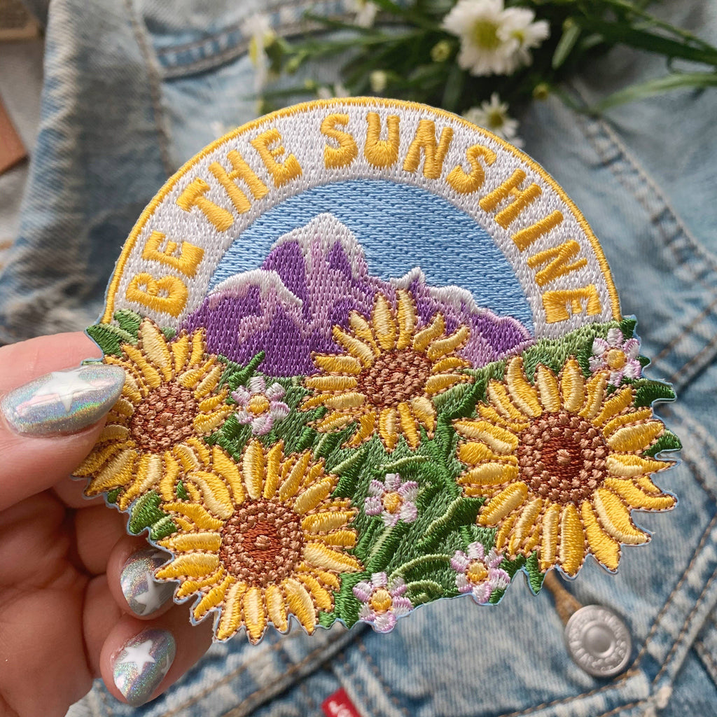 Wildflower + Co. - Patch - Sunflower Collection - Be the Sunshine