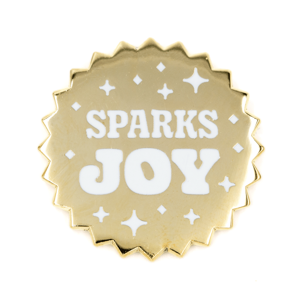 These Are Things - Sparks Joy Enamel Pin