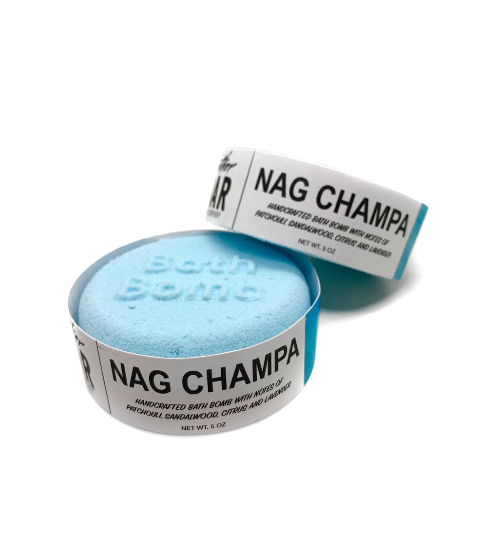 Lather Bar Soap Company - Nag Champa Bath Bomb