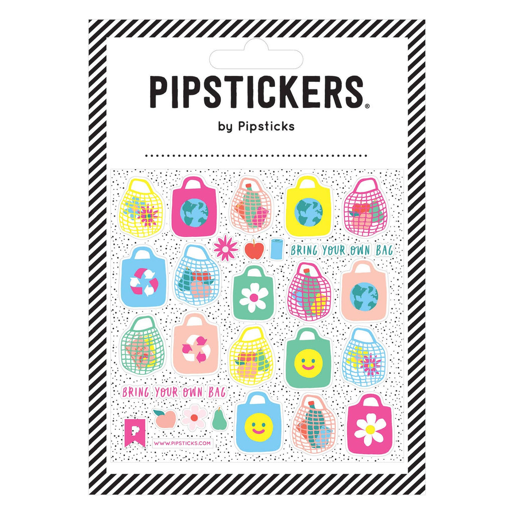 Pipsticks Stickers- Bring Your Own Bag